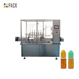 Peristaltic pump liquid filling machine alang sa gamay nga botelya sa vial