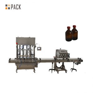 Awtomatikong Spindle Capper PET Plastic Bottle Lid Capping Machine