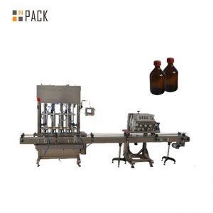 Taas nga Tukma nga Awtomatikong lubricating oil / lube oil filling machine