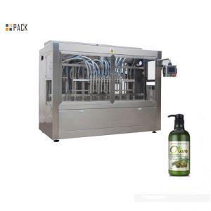 Kompleto ang awtomatikong de-boteng kamot nga naligo nga shampoo machine